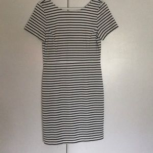 Cute black and white stripped dress